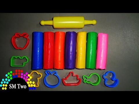 Đồ chơi cho trẻ em - Đồ chơi đất nặn 7 màu | SM Two