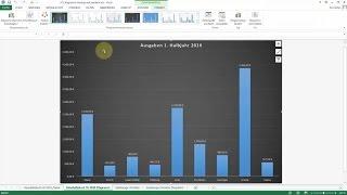Excel Tipps und Tricks #73 Diagramm-Hintergrund: Eigene Grafik verwenden