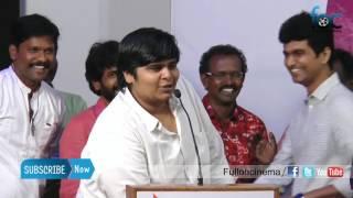 Karthik Subbaraj's superb speech at Oru Kanavu Pola Audio Launch - Fulloncinema