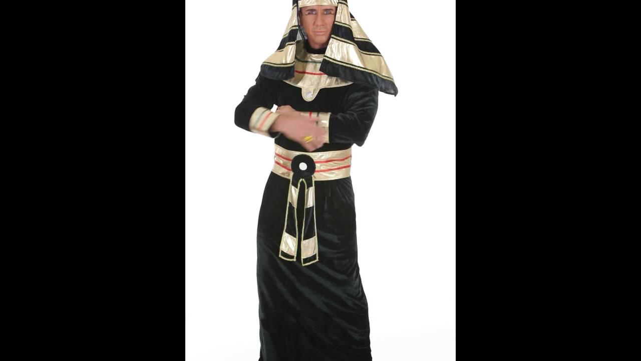 Ägypter Pharaonen Kostüm für Herren - YouTube
