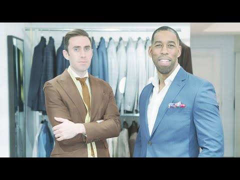 Behind the Scenes: Luxury Custom Suit Fitting by Thomas Henry Made