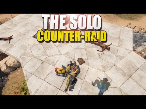 The SMELL Of SOLO COUNTER-RAIDS In The MORNING (Rust Survival) #154