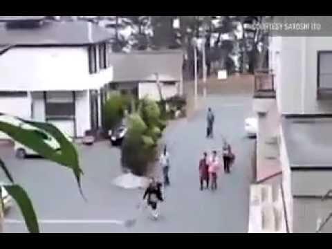 Great Escape from Dangerous Tsunami