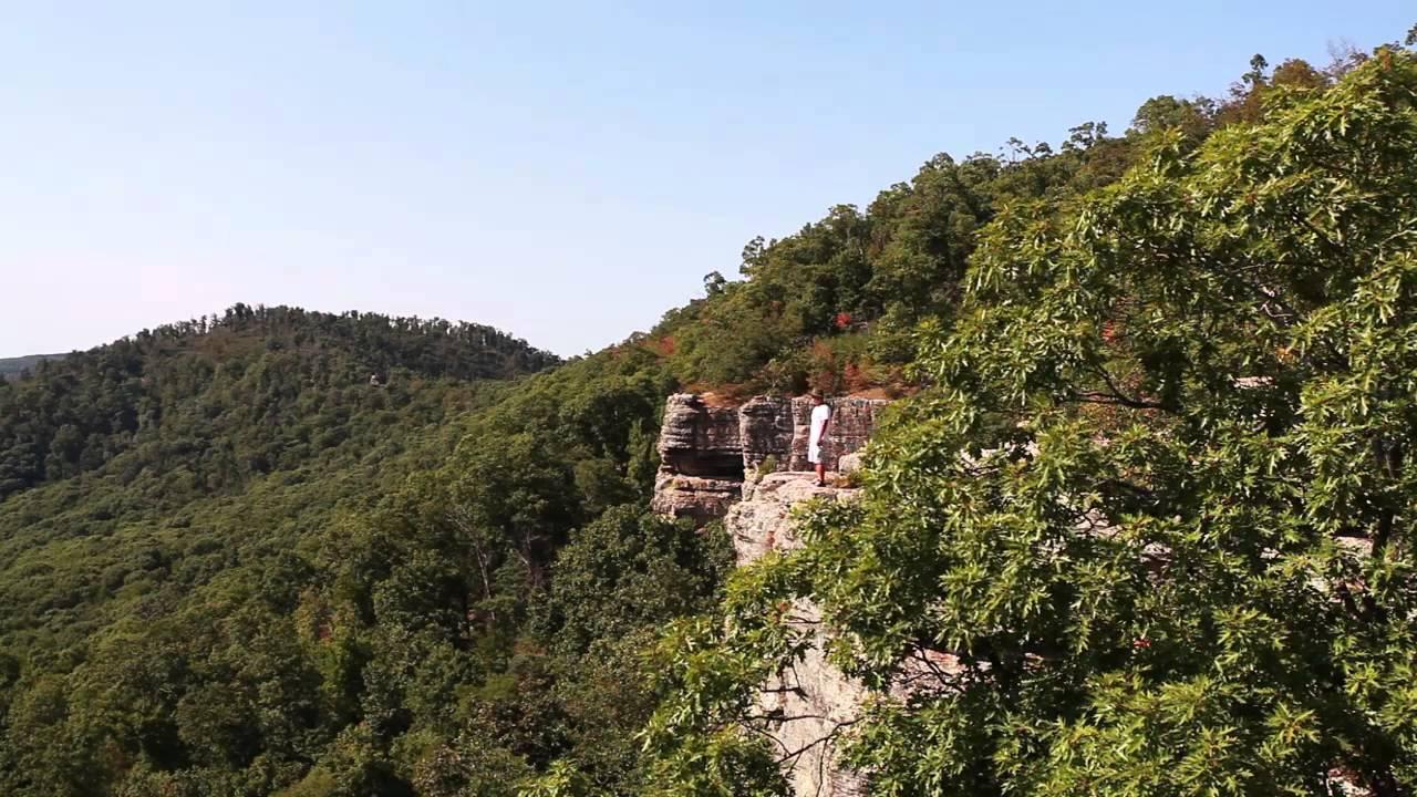 White rock mountain arkansas youtube for White rock mountain cabins