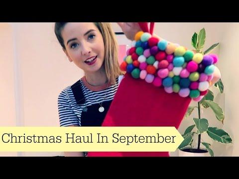 Christmas Haul in September!