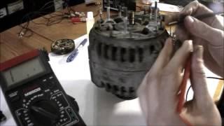Проверка генератора ЭЛТРА ПРАМО 80А 5102.3771.