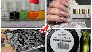 Born Pretty Store Review & Demo-stamping Polish-plates-gel Polishes / Denise20 20% Off