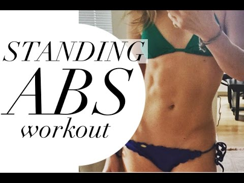 6 MINUTE STANDING ABS WORKOUT | TRACY CAMPOLI | FLAT BELLY WORKOUT WITH NO CRUNCHES