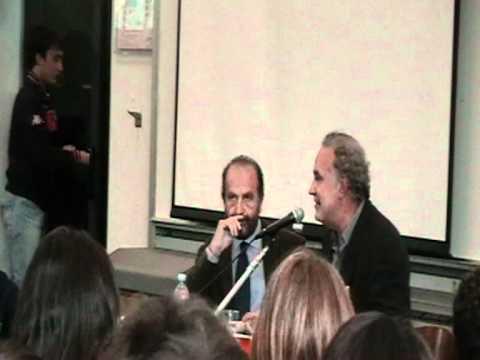 """Michele SANTORO in Bocconi """" RAI DI TUTTO DI PIU' """" -  pt 1"""