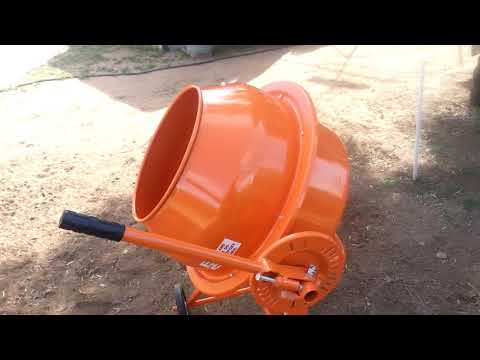 Harbor Freight 3 5 Cubic Foot Electric Cement Mixer Assembly: Part 2 of 2