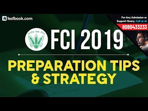 FCI Recruitment 2019 | Preparation Tips & Strategy for FCI by Experts | Based on FCI Syllabus 2019