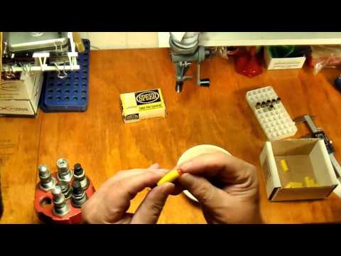 SPEER SHOTSHELL CAPSULE LOADING for 38/357 revolver - YouTube