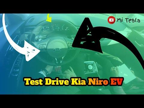 Test Drive Kia Niro EV 2020 in the LA Auto Show 2019