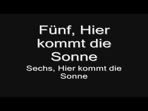 Rammstein - Sonne (lyrics) HD