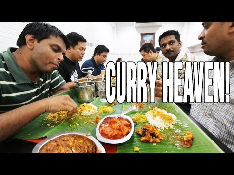 Thumbnail: Enter Curry Heaven | Amazing Indian Cooking, Indian Food in Penang, Malaysia
