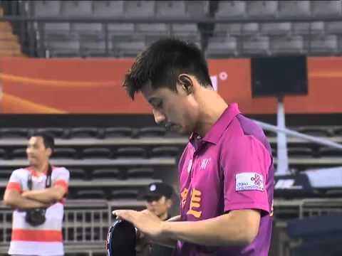 2013 China Super League: Zhang Jike - Xu Chenhao [Full Match/High Quality]