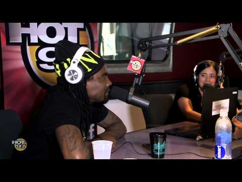 Wale Comes by Hot97 Morning Show and Gets Call from RG3!