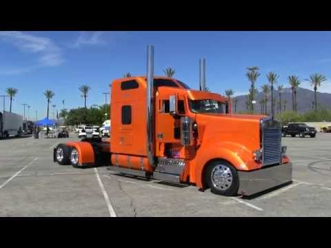 Rollin R Enterprises 2005 Kenworth W900L Arriving At TFK 2014
