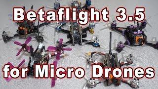 Betaflight 3.5 Micro Drone PIDs (Intro) 🎓