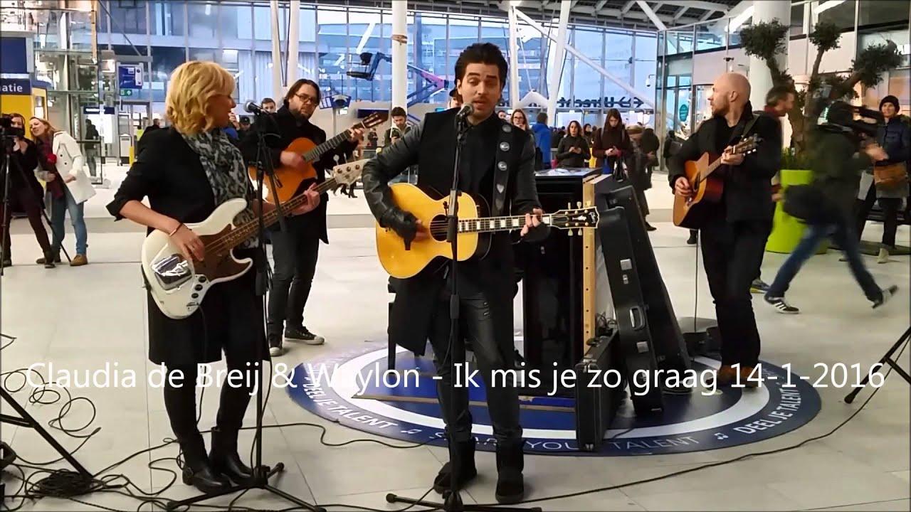 Claudia De Breij Waylon Ik Mis Je Zo Graag 14 Jan 2016