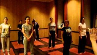 Оздоровительный цигун, занятия (часть 1)