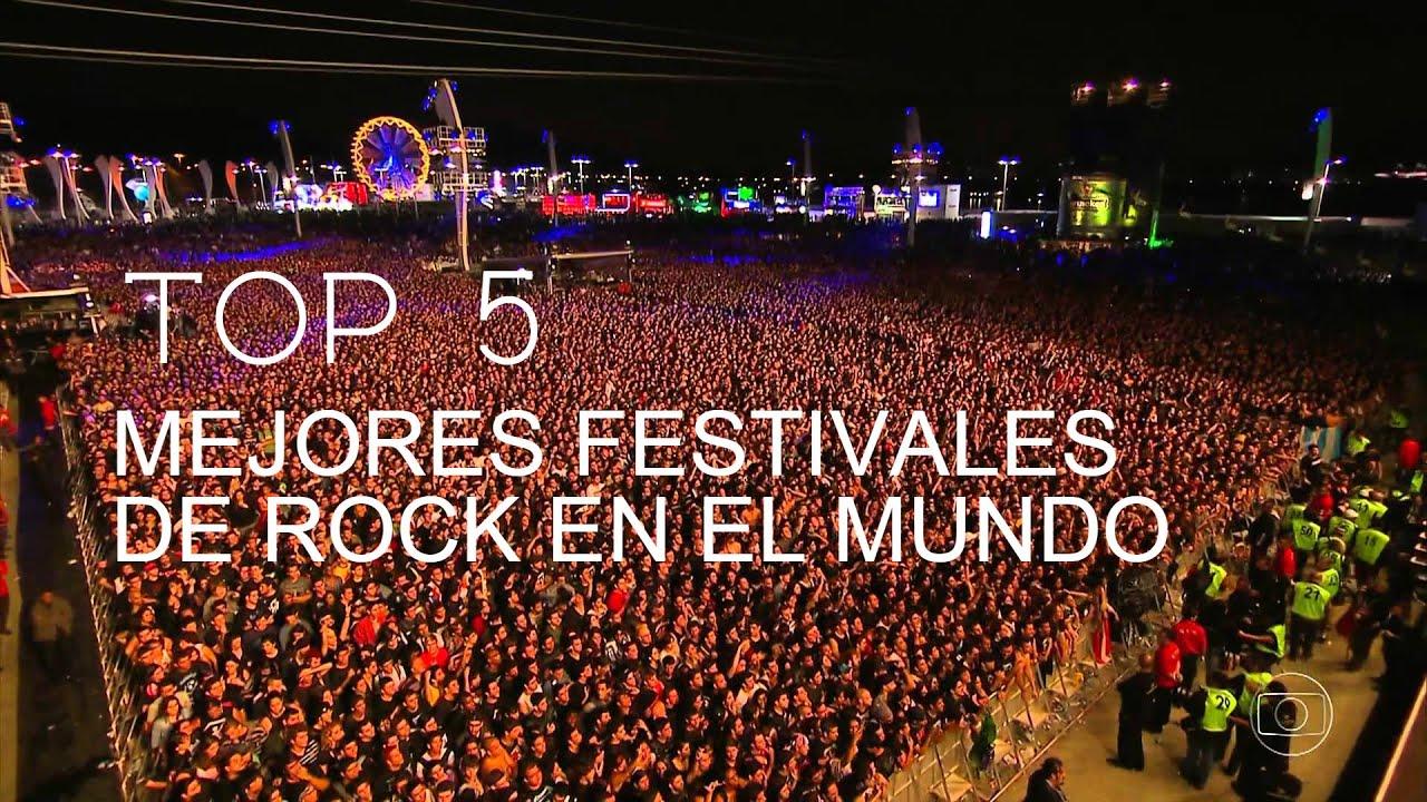 Top 5 los mejores festivales de rock en el mundo youtube - Los mejores carnavales del mundo ...