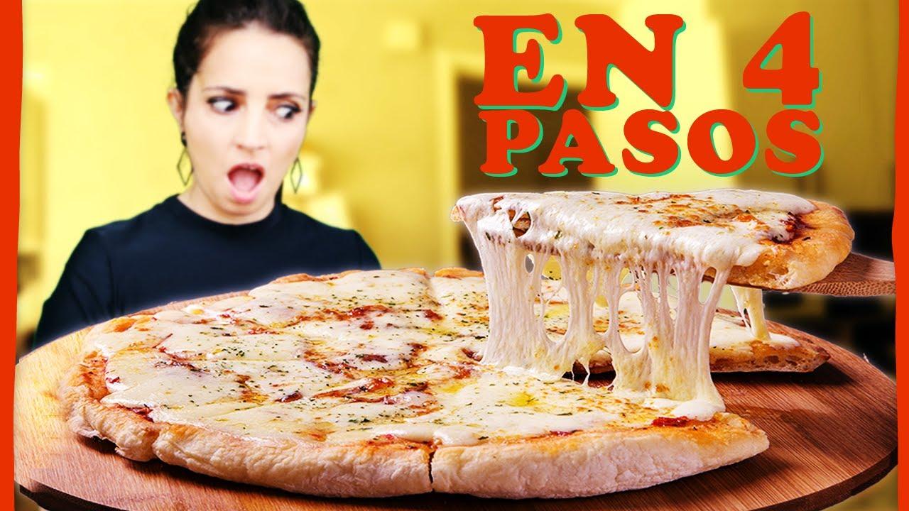 Pizza casera: masa para pizza PASO A PASO con tips y trucos - Cómo hacer pizza E01