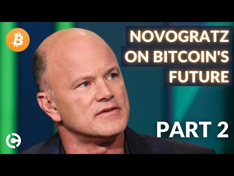 Mike Novogratz Interview with Currency.com about the Future of Bitcoin and Crypto - Part 2
