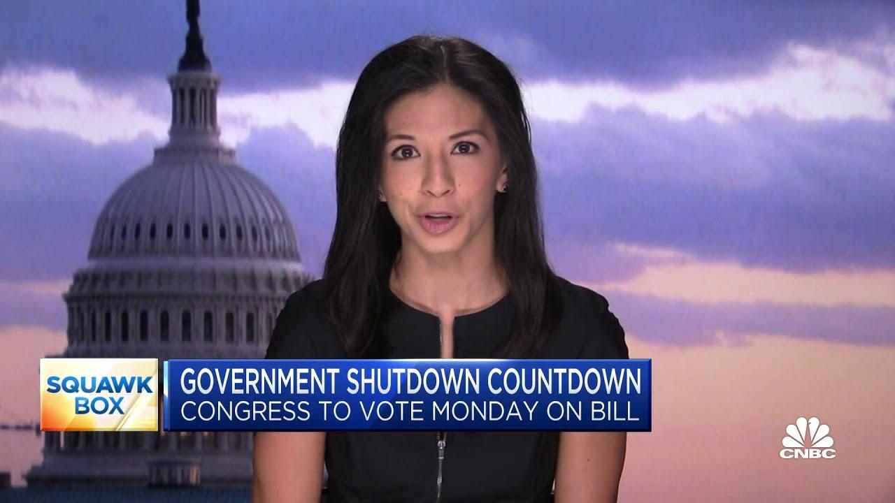 Live updates: Senate to take up bill to avoid government shutdown ...