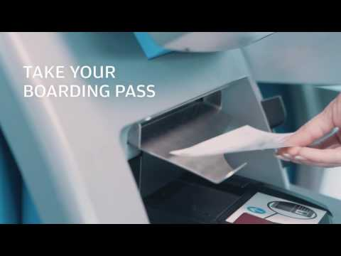 How to check in for Finnair flights: Check-in kiosk