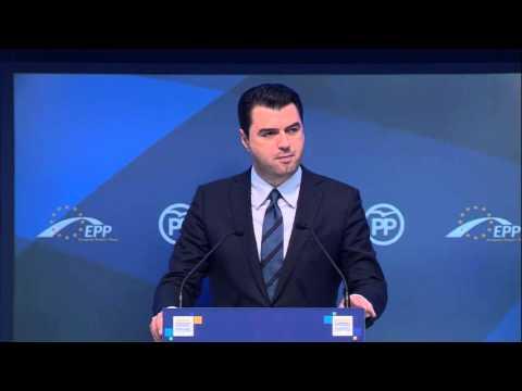 EPP Madrid Congress - Lulzim Basha (Albania)