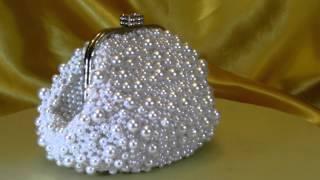 Cвадебная сумочка клатч для невесты ''First Lady - Первая леди'' №42