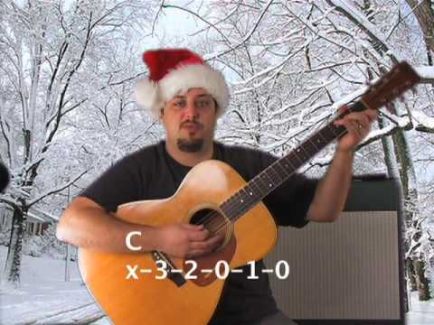 Easy Holiday Songs on Guitar - Rudolph the Red Nose Reindeer and DVD Contest