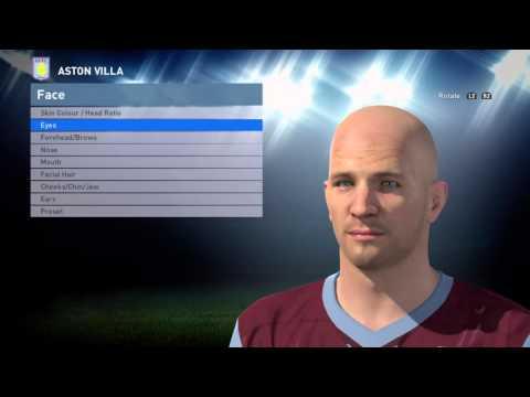 Pro Evolution Soccer 2016 P.Senderos Aston Villa