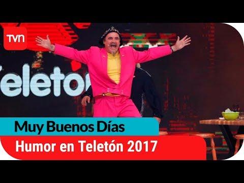 Lo mejor del humor en Teletón 2017 | Muy buenos días