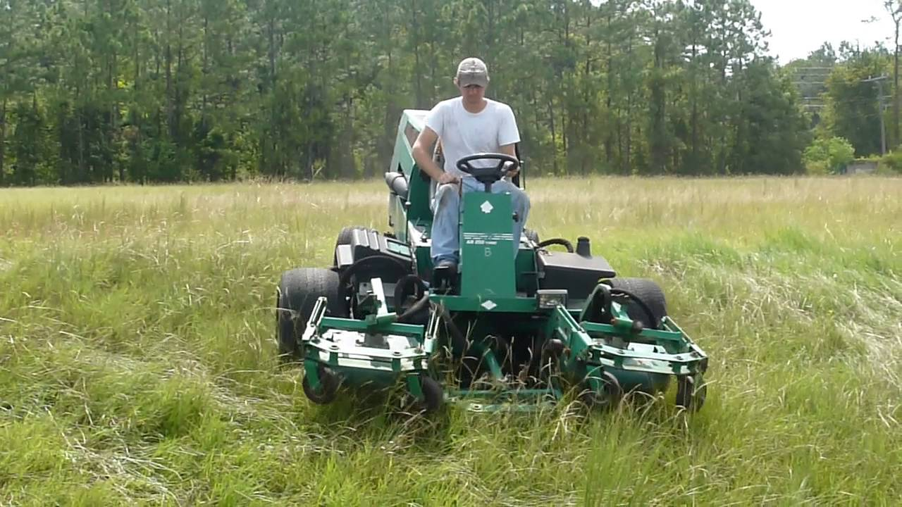 Ransomes AR250 Rotary Mower w/ 2317 hours w/ Kubota V1505 parting out