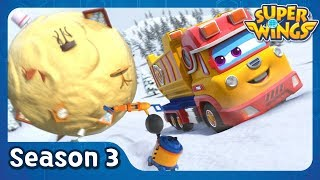 A Big Swiss Clean Up | super wings season 3 | EP34