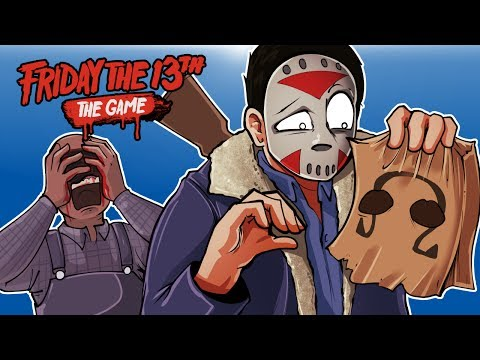 Friday The 13th - TRYING TO KILL JASON LEGIT! (GIVE ME YOUR MASK!)