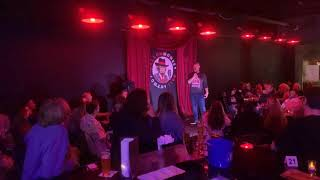 Tim Watt On Stage At The Mellow Monkey Comedy Club