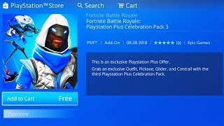 *NEW* How to Get PLAYSTATION PLUS PACK #3 (Fortnite: Battle Royale)