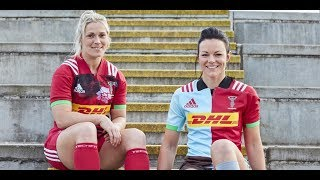 Behind the scenes at Harlequins' 2017/18 kit launch