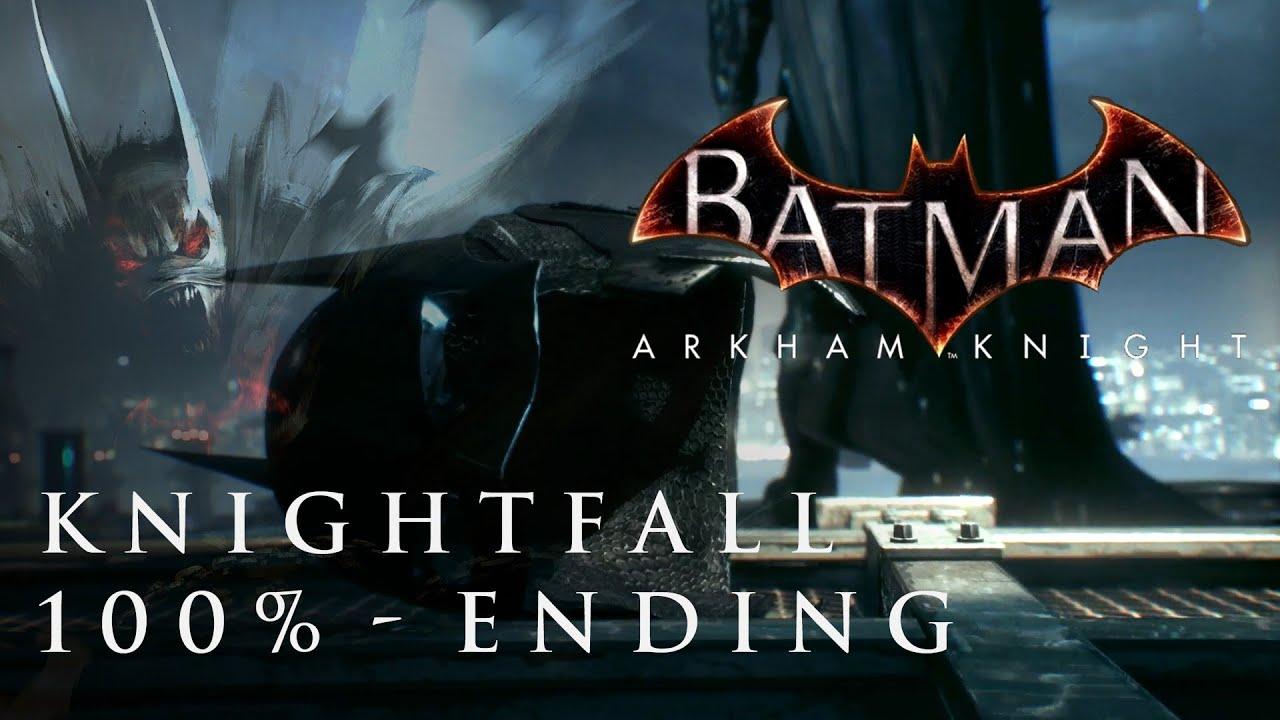 BATMAN: ARKHAM KNIGHT   Knightfall Protokoll   Geheimes Ende   100 ...
