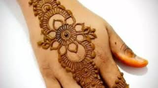 Beautiful henna designs for girls 2018