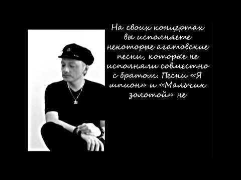 Глеб Самойлов (The MATRIXX ex-Агата Кристи) - Интервью в Красноярске, 03.2014