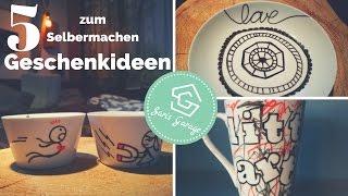 DIY Geschenkideen - 5 Ideen für jeden Anlass - Einfach zum selber machen & basteln