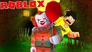 WICKED CLOWN CHASING ME IN ROBLOX