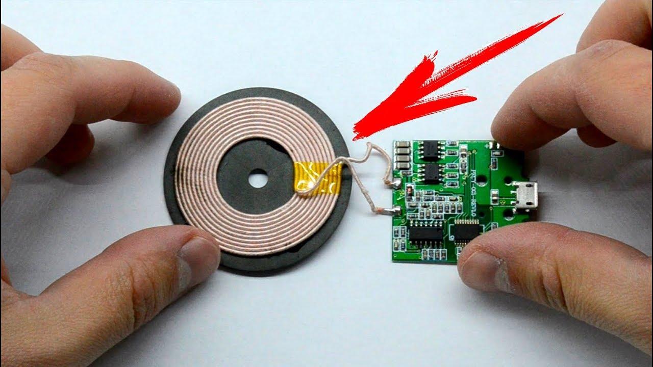 Как сделать беспроводную зарядку на телефон 97