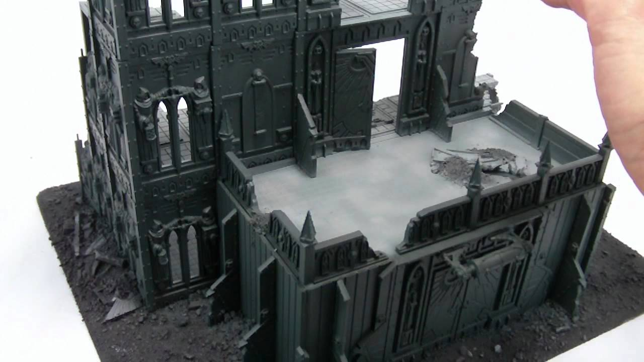 TerranScapes - Imperial Sector Terrain Project - WIP 4 - 40k