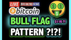 WOW!!! BITCOIN BULL FLAG TO $11,000?!! 💥 LIVE Crypto Analysis TA & BTC Cryptocurrency Price News Now
