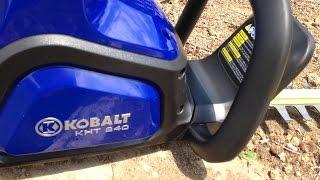 Kobalt 40v Cordless Hedge Trimmer Review